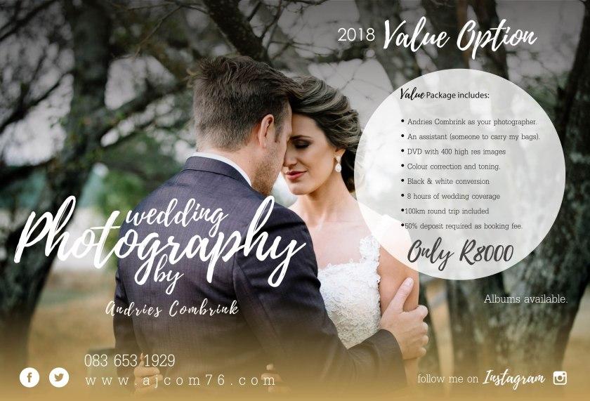 2017 wedding Value Option