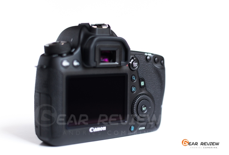 canon 6D Back dails