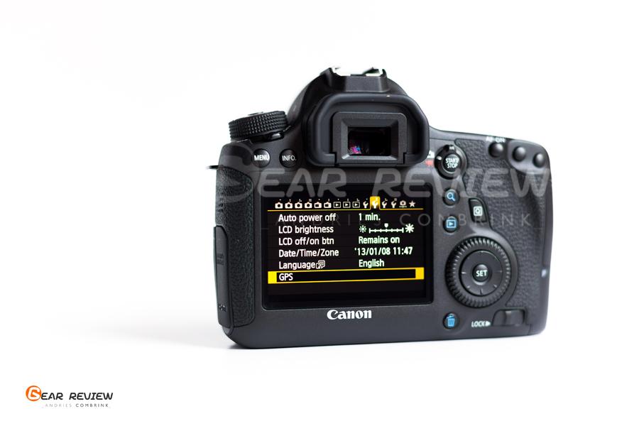 canon 6D Gps