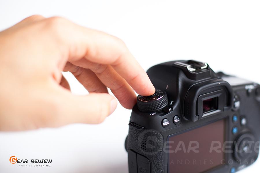 canon 6D lock dial