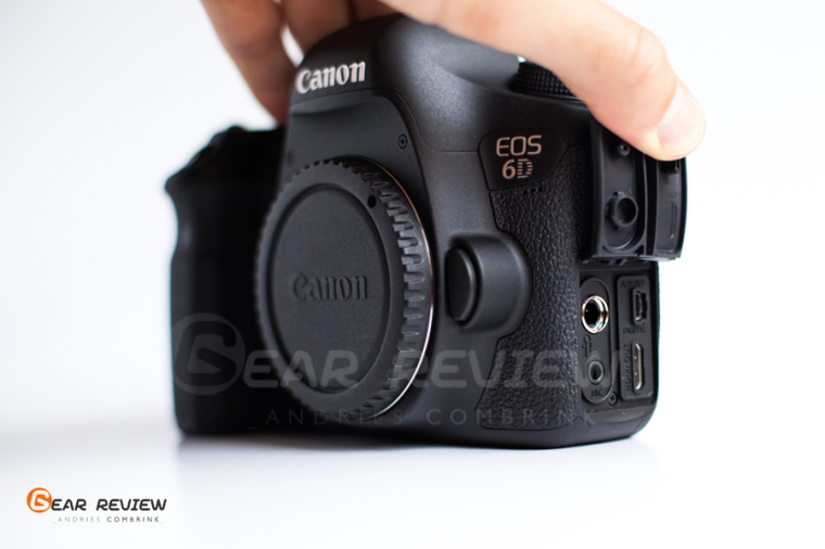 canon 6D ports