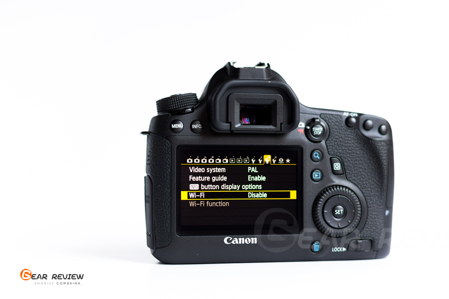 canon 6D WiFi