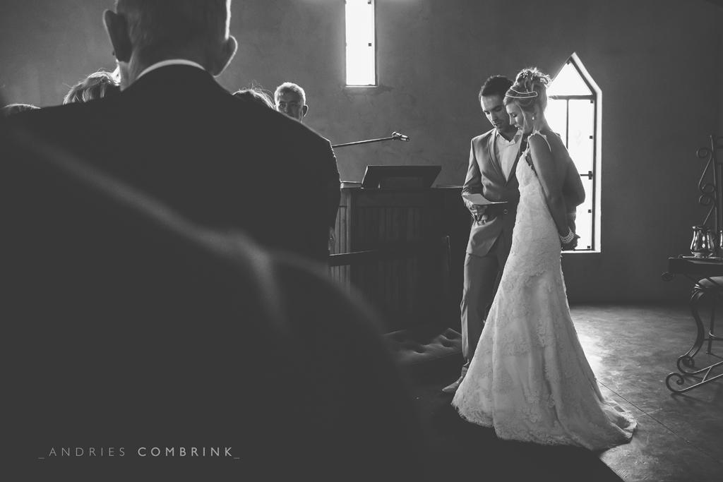 Bride+Groom church