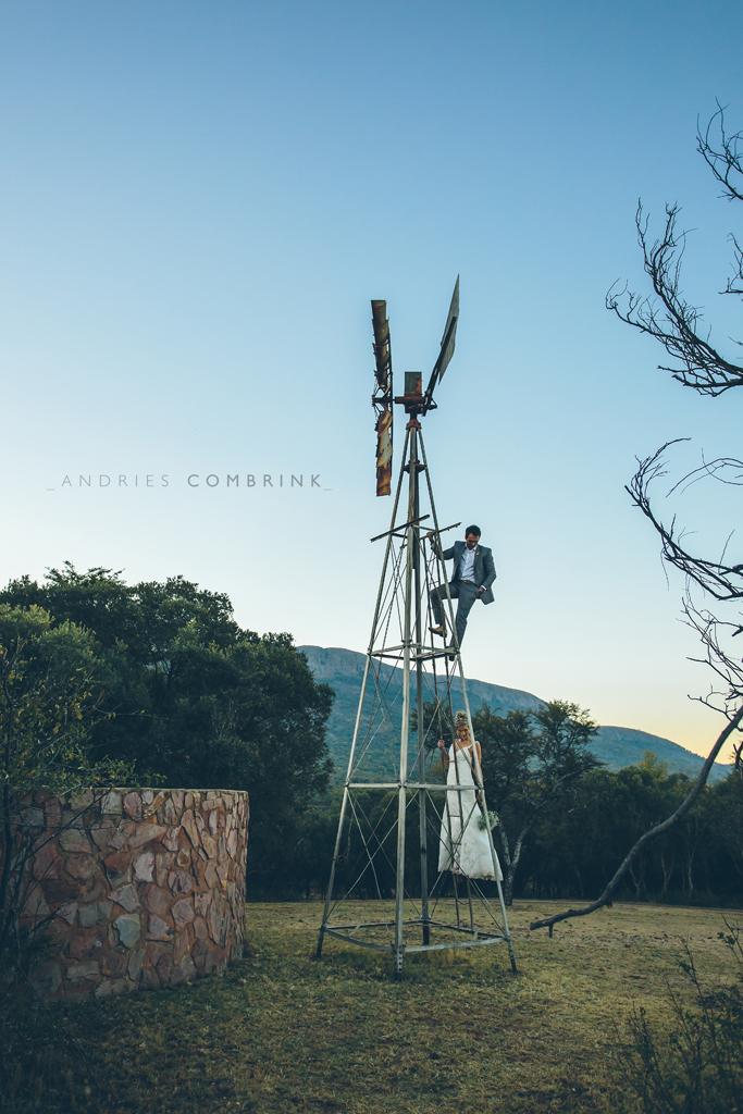Bride+Groom Windmill