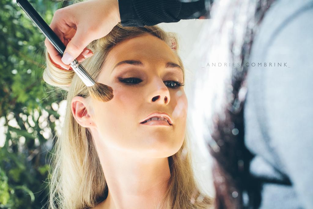 Make-up2 Green Leaves Wedding