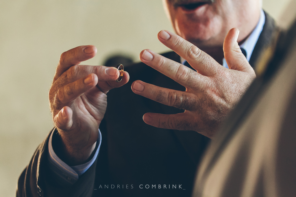 Priest with Ring