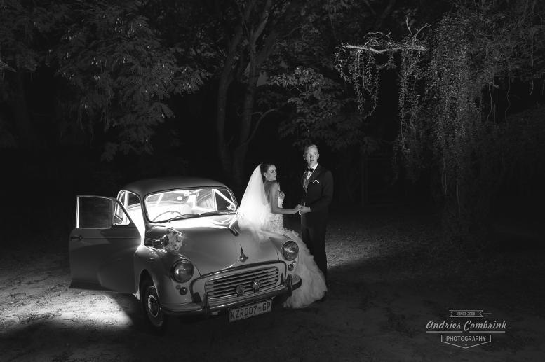 off camera wedding portrait