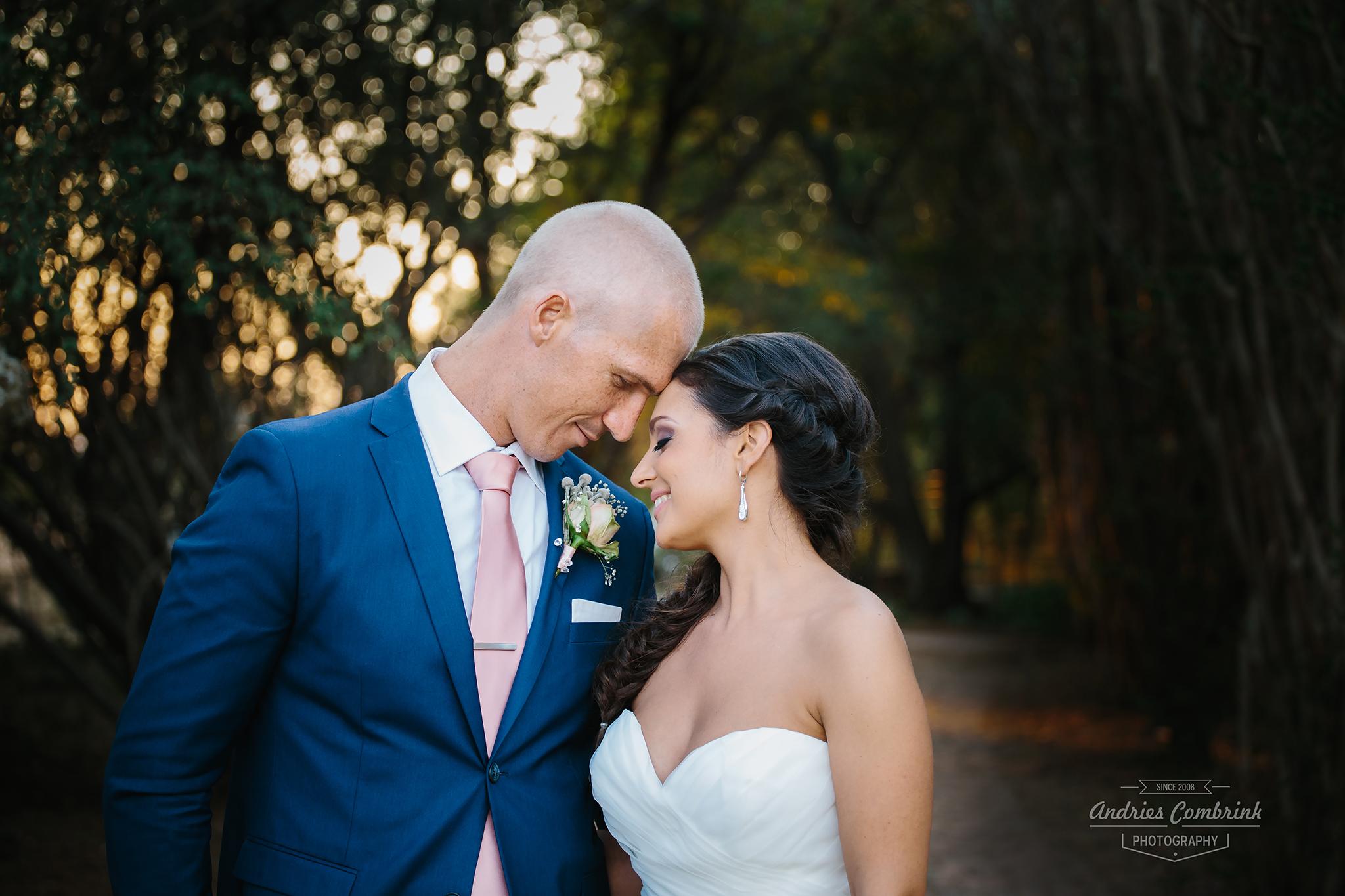 die akker wedding portrait