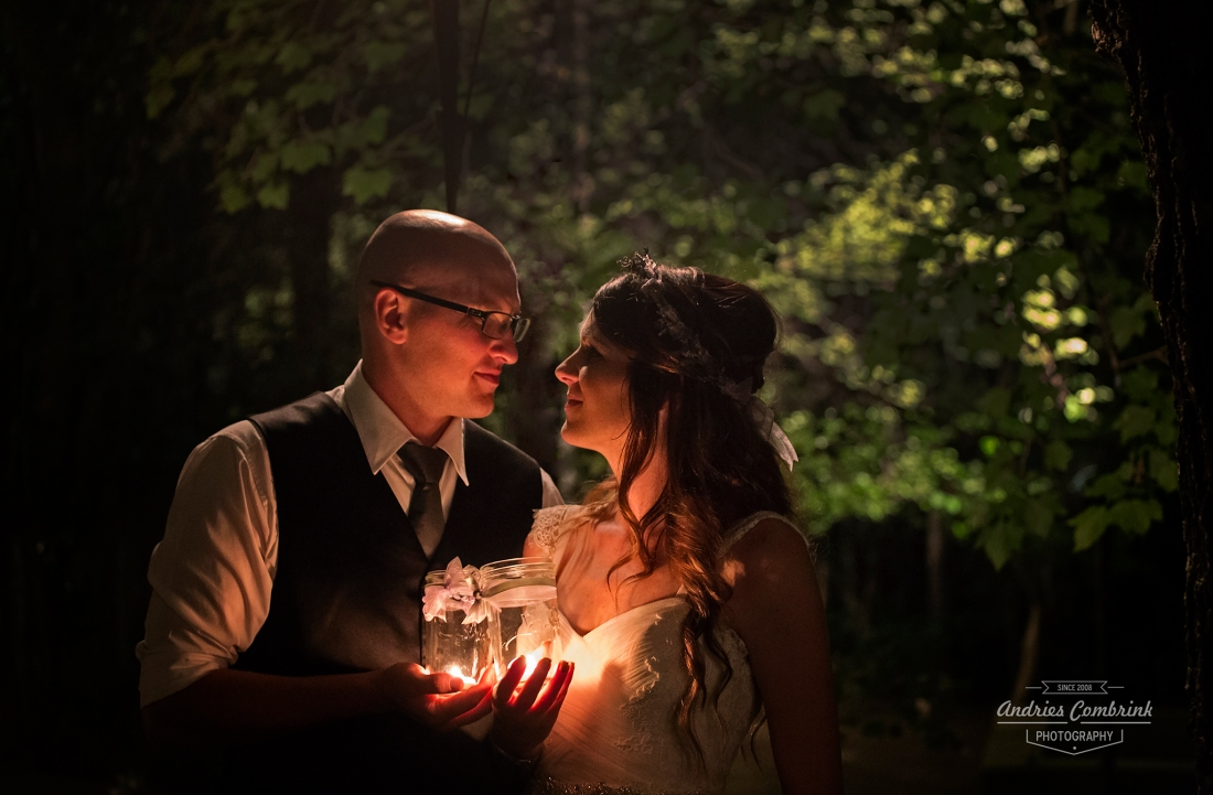 lantern light couple