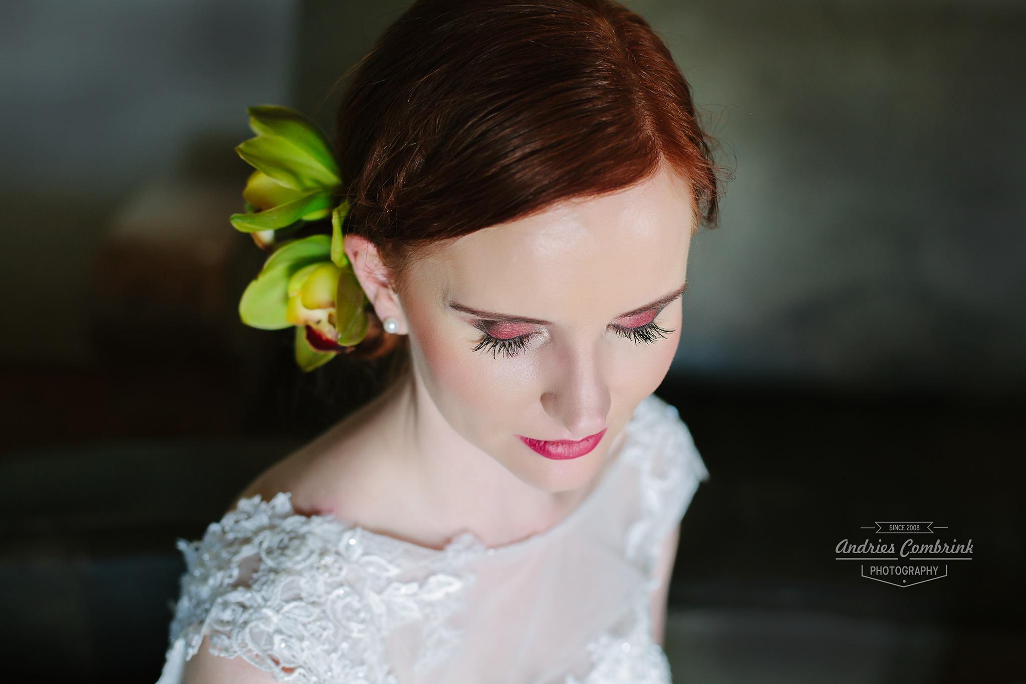 creative bridal portrait