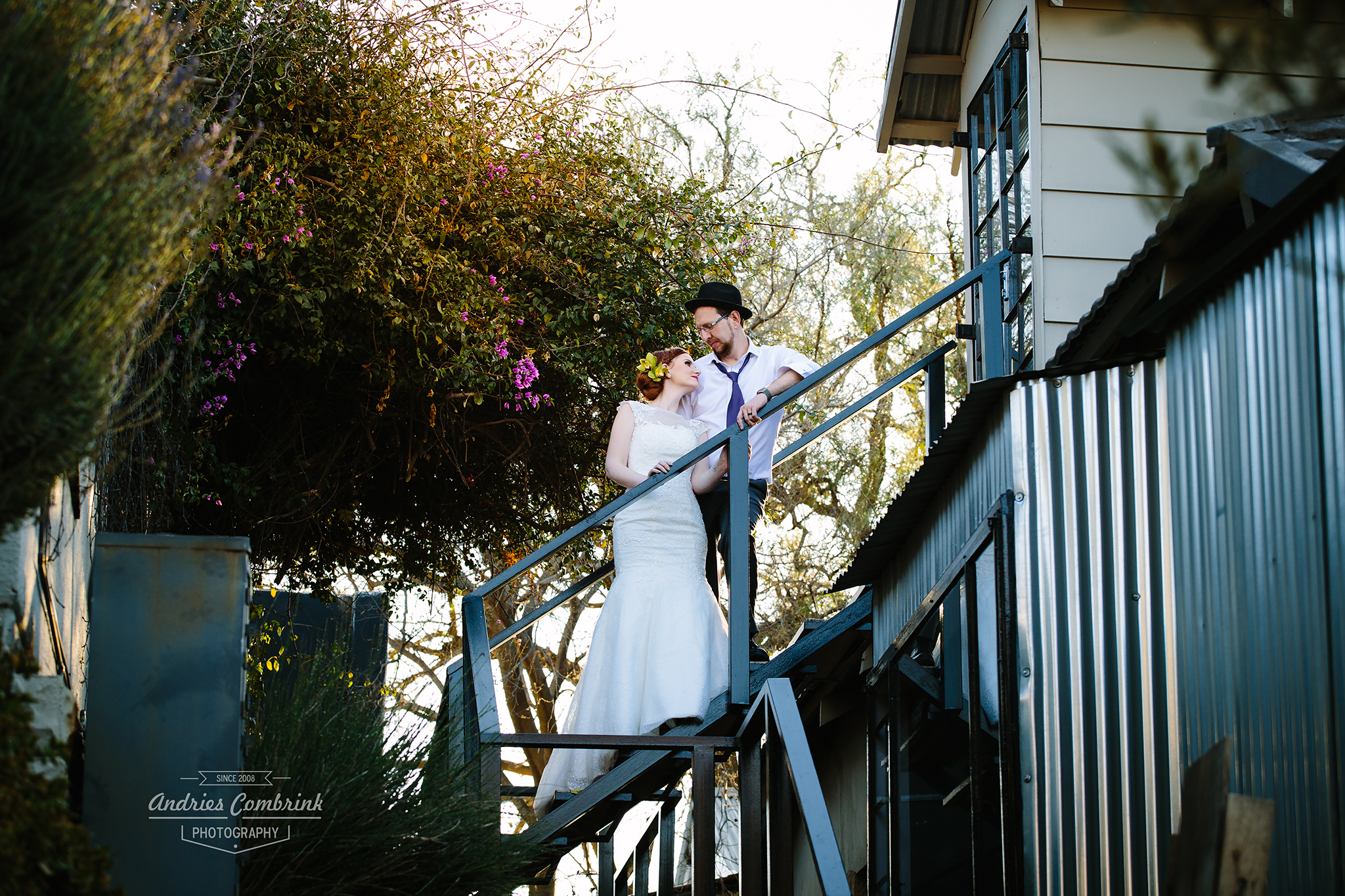 elopement bride+groom portrait 1